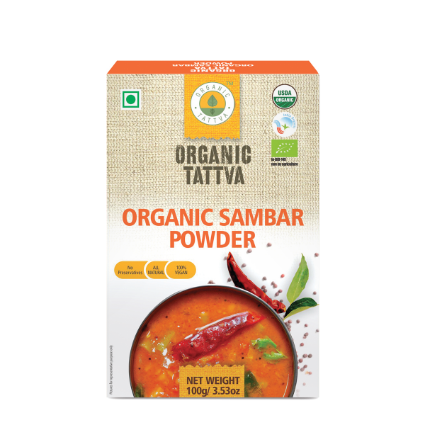 Organic Tattva's Sambar Powder
