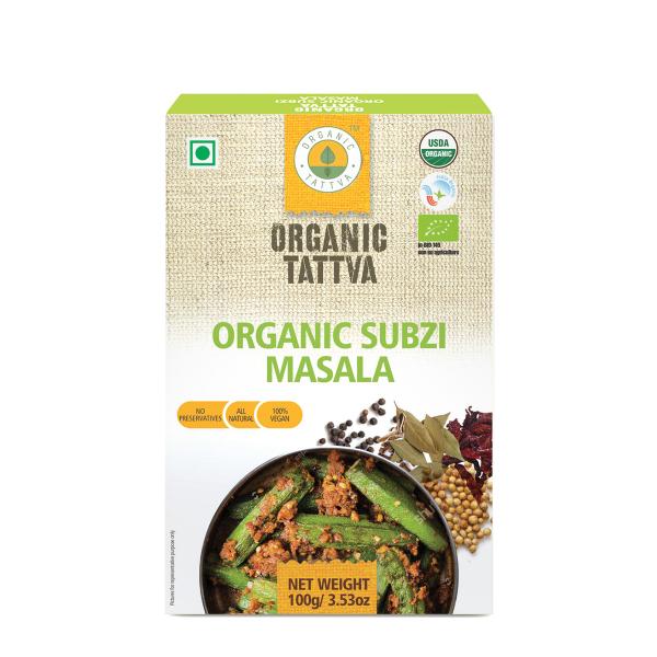 Organic Tattva's Subzi Masala