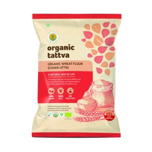 Organic Whole Wheat Flour (Chakki Atta) (5kg)