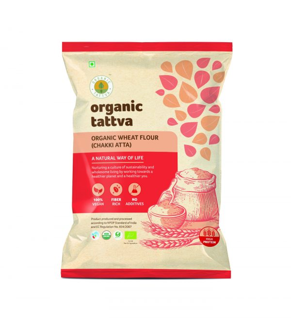 Organic Whole Wheat Flour (5kg)