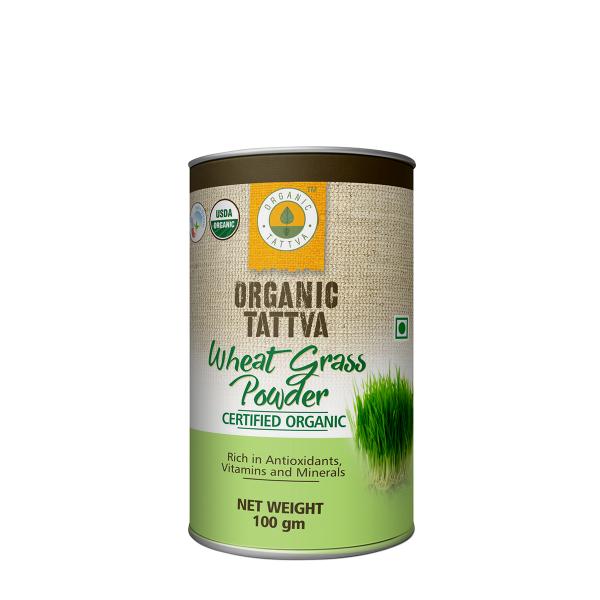 Organic Wheat Grass Powder (100gm)