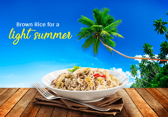 Brown Rice for Healthier Summer