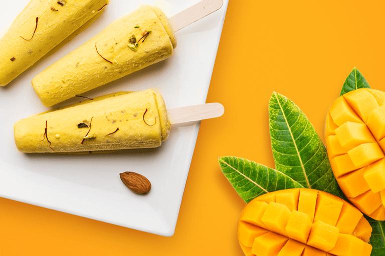 Mango Kulfi Recipe - Organic Tattva