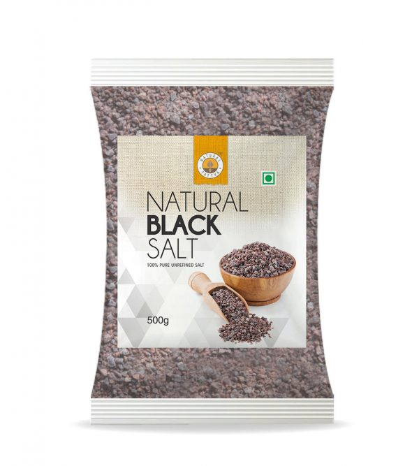 Natural Black Salt