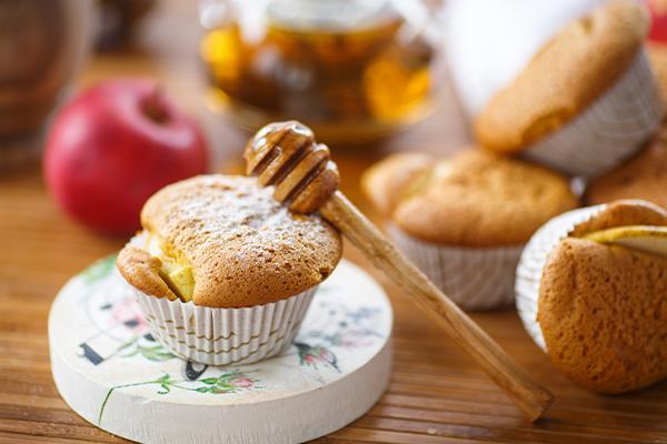 Honey Muffins Recipe - Organic Tattva