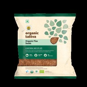 Organic Flax Seeds (100g)
