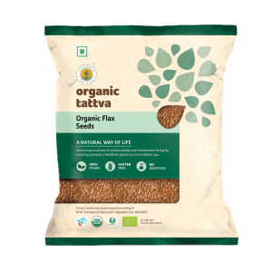 Organic Flax Seeds (200gm)