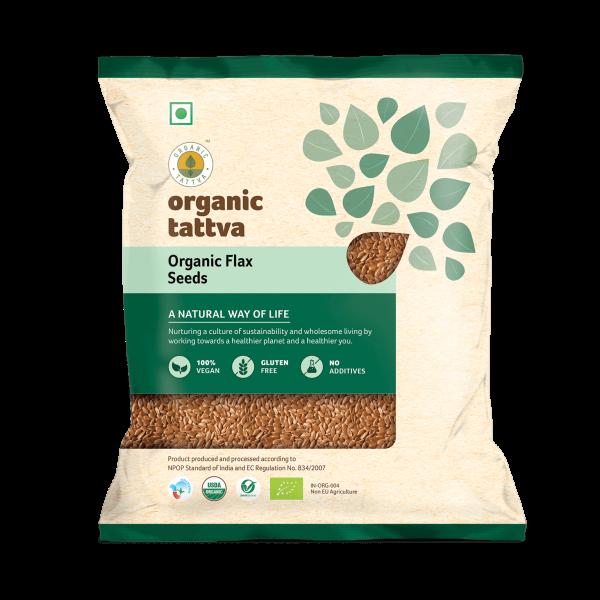 Organic Flax Seeds (200gm)