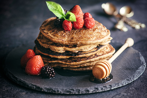 Gluten-Free Buckwheat Pancakes Recipe - Organic Tattva