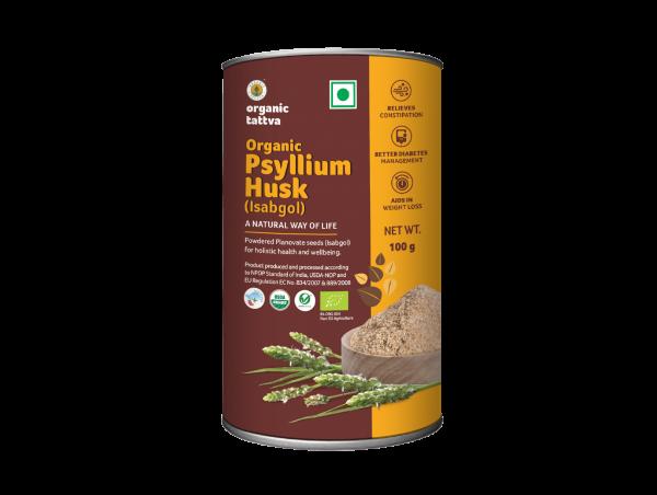 Organic Psyllium Husk (100g)