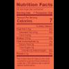 Health Foods 100gm_Organic Triphala Husk_Nutrition Table