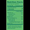Health Foods 100gm_Organic Wheatgrass Powder_Nutrition Table