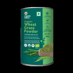 Organic Wheat Grass Powder (100g)
