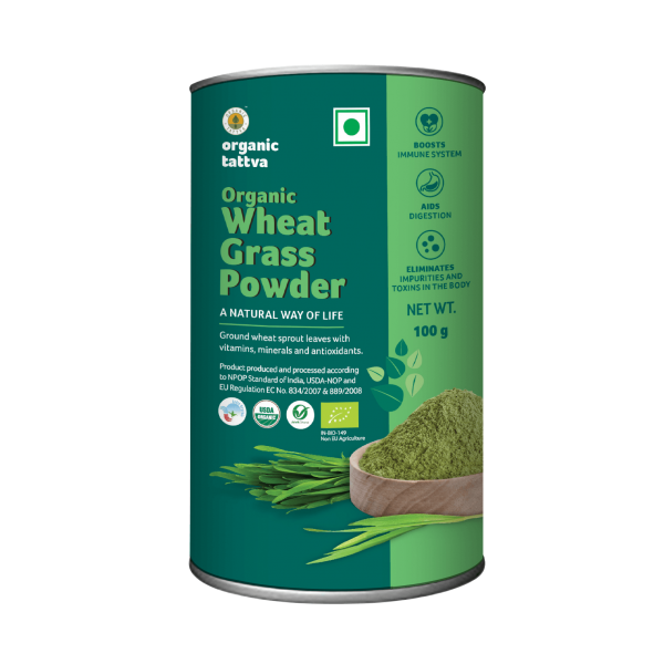 Organic Wheat Grass Powder (100g)