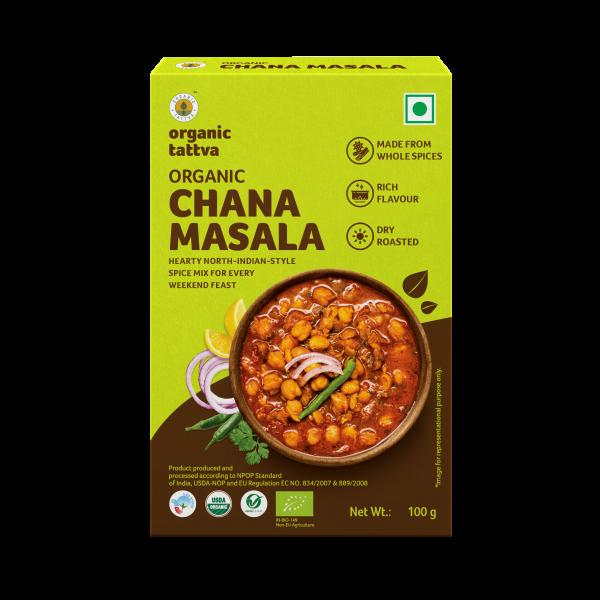 Organic Chana Masala