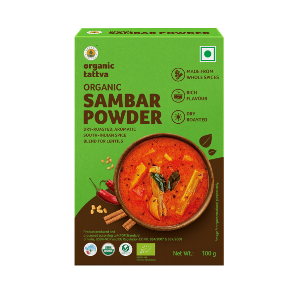 Organic Sambar Powder