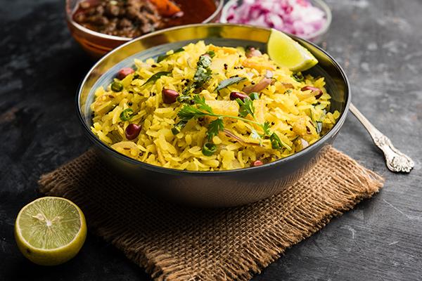 Homemade Kanda Poha Recipe - Organic Tattva